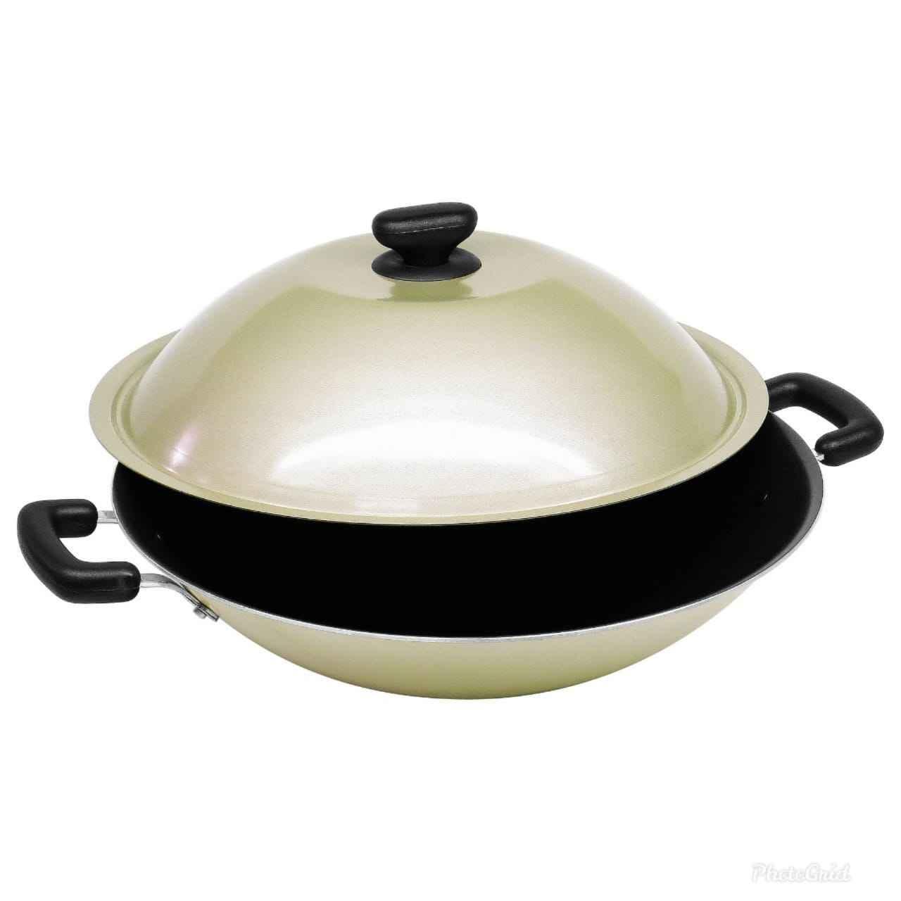maxim  image wok with lid 36cm nmimwk36dps